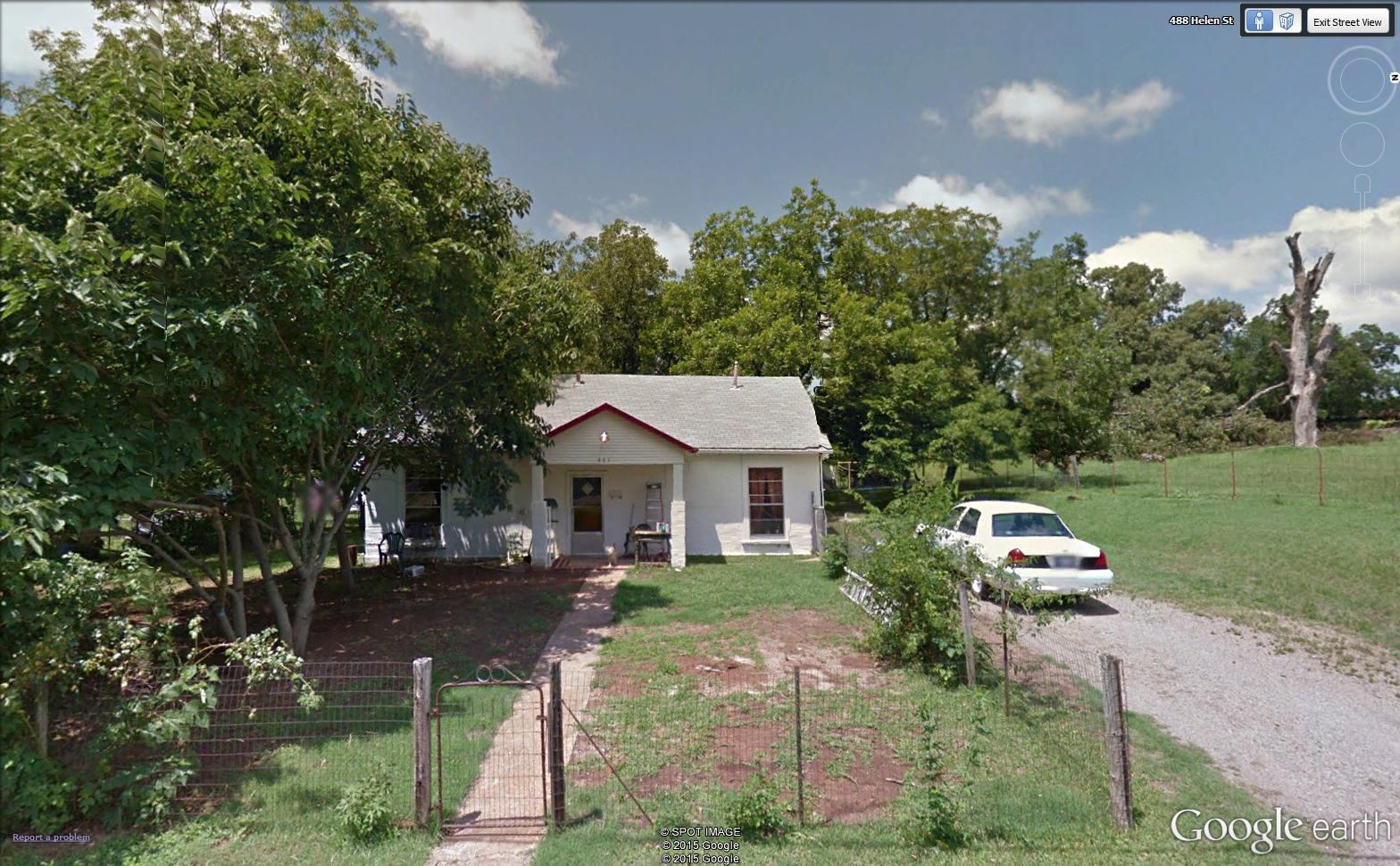 Solid White Brick Home Fenced Residential Lot Hugo